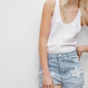 Wilfred Free Boyfriend style shorts